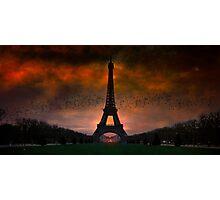 Bonsoir Paris Photographic Print