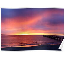 Port Noarlunga @ sunset Poster
