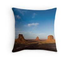 The Mittens: Monument Valley Throw Pillow