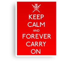 Forever Carry On Canvas Print