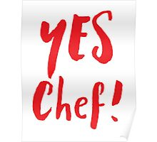 YES CHEF! Poster