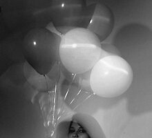 Girl with Balloons by thatsummertimef