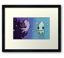 Aquatic Love Framed Print