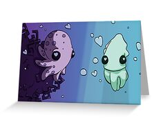 Aquatic Love Greeting Card