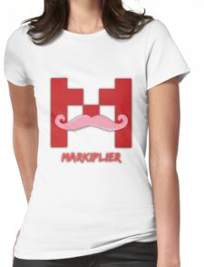 Warfstache Womens Fitted T-Shirt