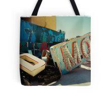 Neon Motel Tote Bag