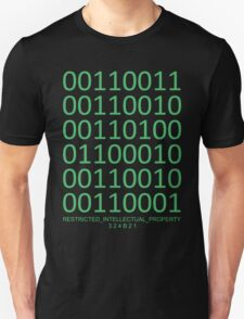Cosima Niehaus's Binary Code - Orphan Black T-Shirt