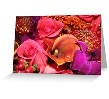Floral Vibrance   Greeting Card