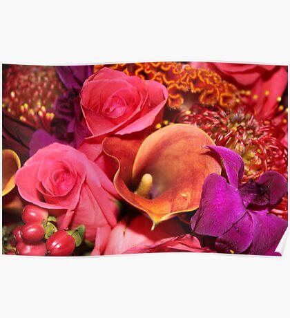 Floral Vibrance   Poster
