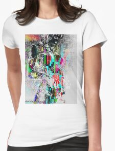Painted Lady 2.0 Womens Fitted T-Shirt