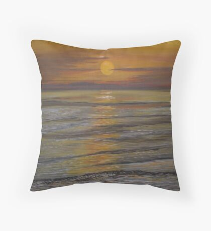 Sunset With You Throw Pillow