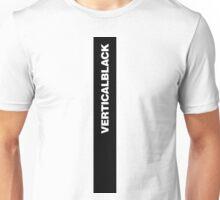 VERTICAL BLACK Unisex T-Shirt