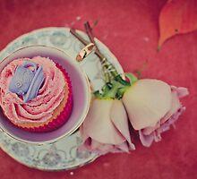 Cupcake in a Tea Cup II by Erika  Szostak