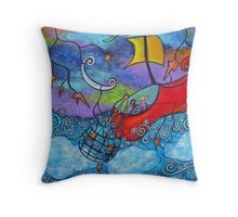 In the Land Of Nod Throw Pillow