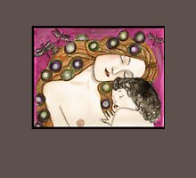 'Mother and child' my version of Klimt Womens Fitted T-Shirt