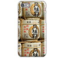 Sake Barrels iPhone Case/Skin