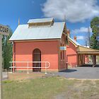 Railway Station , Carcoar, NSW by Adrian Paul