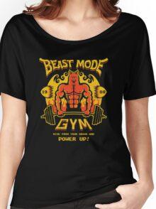Beast Mode Gym Women's Relaxed Fit T-Shirt