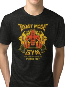 Beast Mode Gym Tri-blend T-Shirt