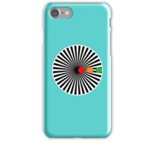 Black Sun iPhone Case/Skin