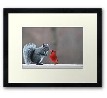 Where Do You Think You Are Going? Framed Print