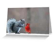 Where Do You Think You Are Going? Greeting Card
