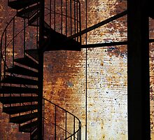 Spiral staircase. by cloud7