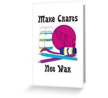 Make Crafts Greeting Card