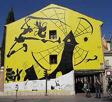 Don Quijote Wall by Arianey