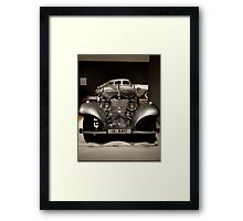 Allure of the Automobile Framed Print