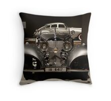 Allure of the Automobile Throw Pillow