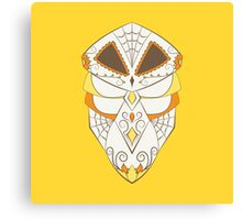 Kakuna Pokemuerto | Pokemon & Day of The Dead Mashup Canvas Print
