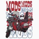 Mods Vespa by Alternative Art Steve