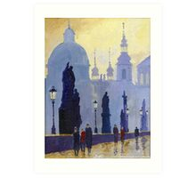 Prague Charles Bridge 03 Art Print
