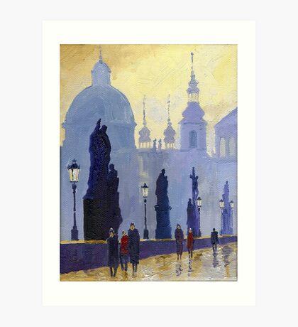 Prague Charles Bridge 03 Art Print