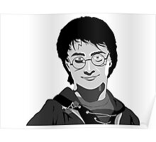 Daniel Radcliffe Harry Potter Poster