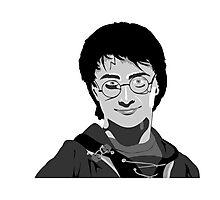 Daniel Radcliffe Harry Potter Photographic Print