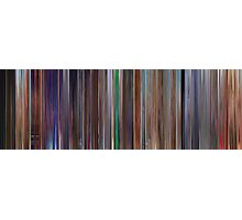 Moviebarcode: Cars 2 (2011) Photographic Print
