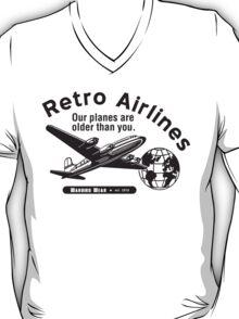 Retro Airlines Logo (Black) T-Shirt