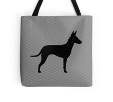 Manchester Terrier Silhouette(s) Tote Bag