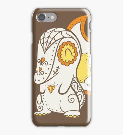 Cyndaquil Pokemuerto | Pokemon & Day of The Dead Mashup iPhone Case/Skin