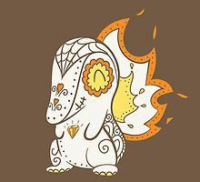 Cyndaquil Pokemuerto | Pokemon & Day of The Dead Mashup by abowersock