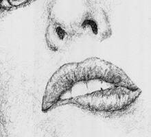 Milla Jovovich Sticker