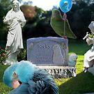 Missing You - Parrotlet Bird Cemetary Memorial Garden by Rick Short