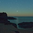Jupiter Setting across Rapid Bay by pablosvista2