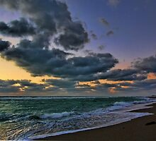 Clouds at Sunset - Venice,  Florida by T.J. Martin