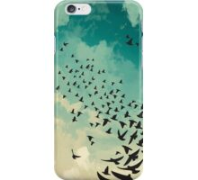 Flocking Birds iPhone Case/Skin