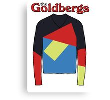 the goldbergs Canvas Print