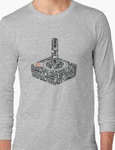 Atari 2600 Games Long Sleeve T-Shirt