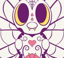 Butterfree Pokemuerto | Pokemon & Day of The Dead Mashup Sticker